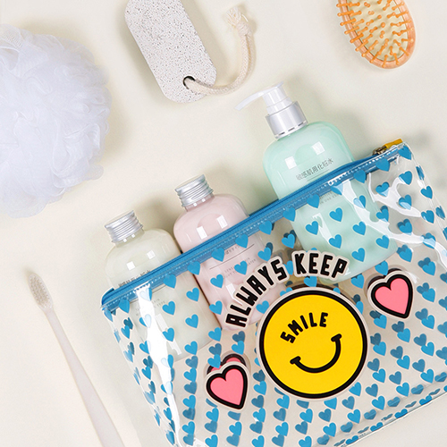MERRYGRIN CLEAR WASH POUCH L/M SET 여행용 워시 파우치