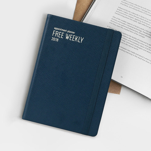 2018 Appointment Planner [B6 Free Weekly Plan]