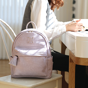 NUEVO MINI OFFICE LEATHER BACKPACK
