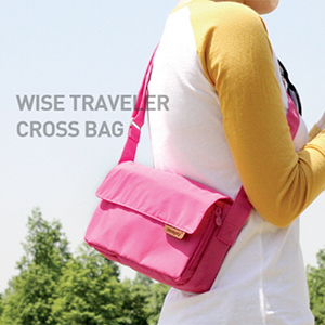 WISE TRAVELER CROSS BAG 여행용 보조가방