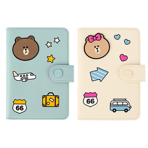 [LINE FRIENDS] MINI JOURNEY NO SKIMMING PASSPORT