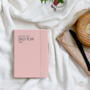 2018 Appointment Planner [A6 Daily Plan]