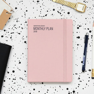 2018 Appointment Planner [A5 Monthly Plan]