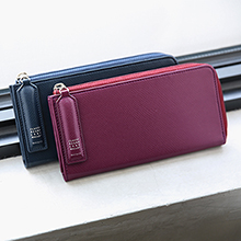 CLASSY ROUND LONG WALLET