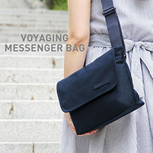 VOYAGING MESSENGER BAG [size L] 여행용 보조가방