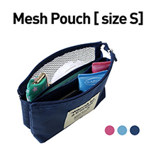 Mesh Pouch 여행용 메쉬 파우치 [size S]
