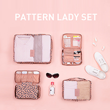 MONOPOLY PATTERN LADY SET