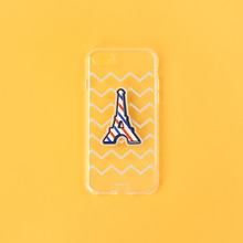 LEATHER STICKER & CASE [i7]
