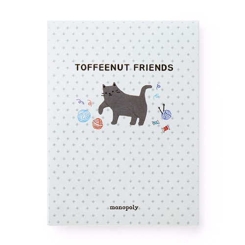 TOFFEENUT LETTER PAD