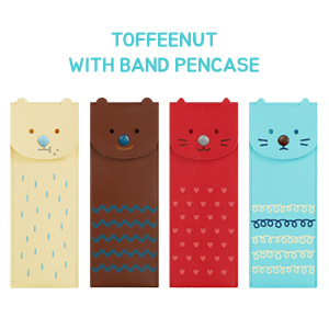 TOFFEENUT WITH BAND PENCASE 토피넛 위드밴드 펜케이스
